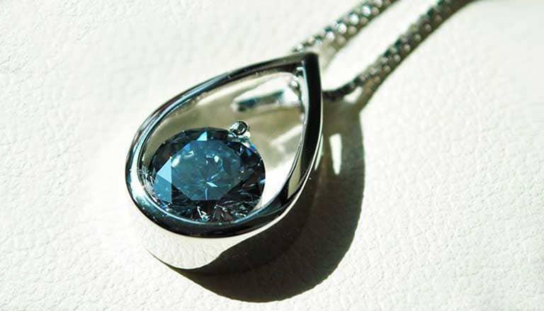 Diamond Oval Arch Pendant